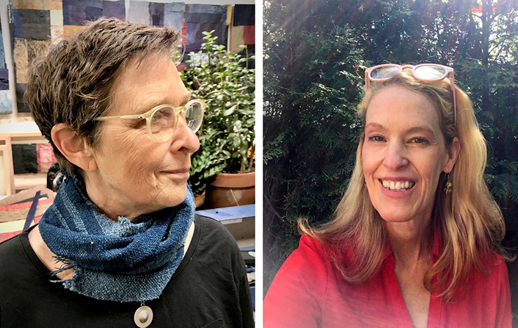 Mary Hark and Sonja Peterson have been named 2021 McKnight Book Artist Fellows.