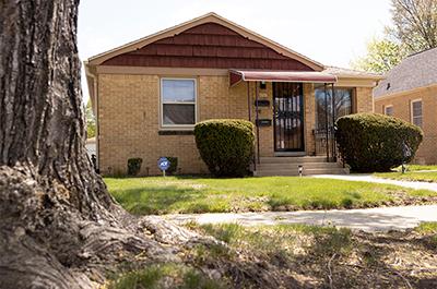two-bedroom house in the Hampton Heights neighborhood of Milwaukee