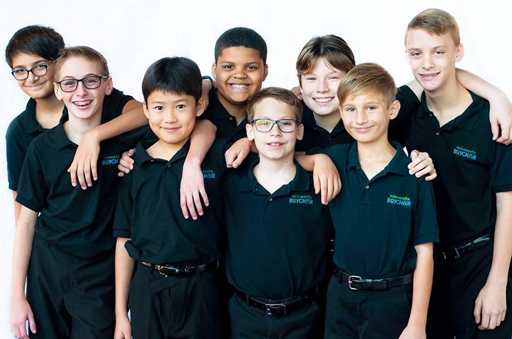 Members of Minnesota Boychoir