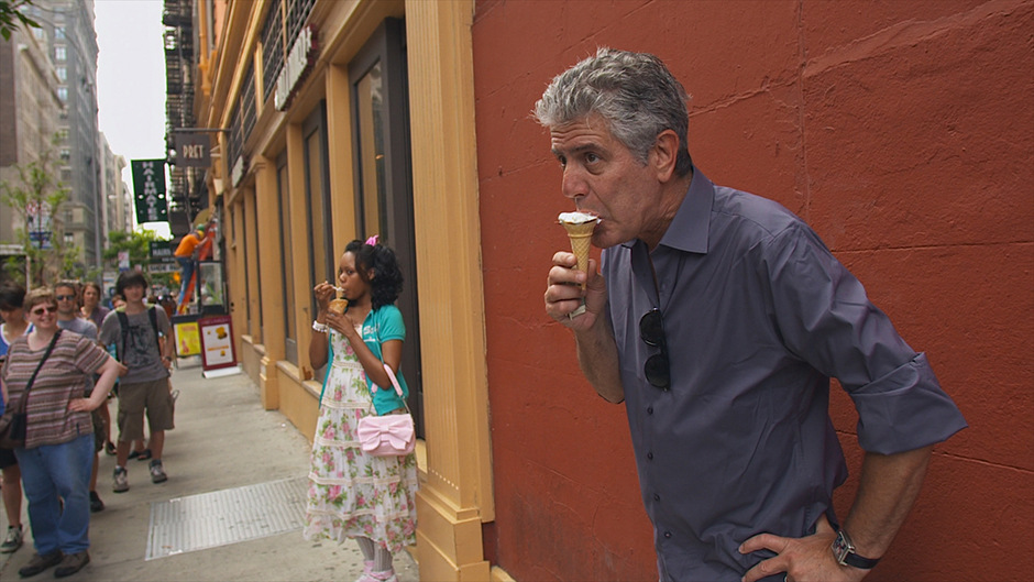 """A scene from """"Roadrunner: A Film About Anthony Bourdain."""""""