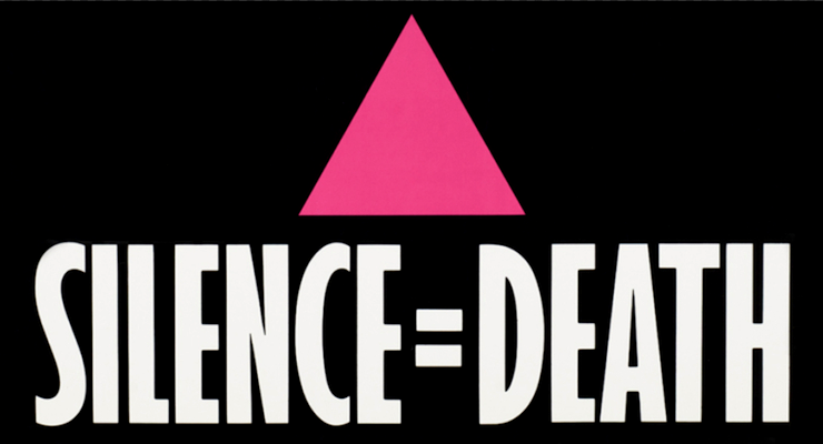One of ACT UP's most successful campaigns was Silence = Death / Silencio=Muerte, which utilized the pink triangle used in Nazi concentration camps to identify homosexuals.