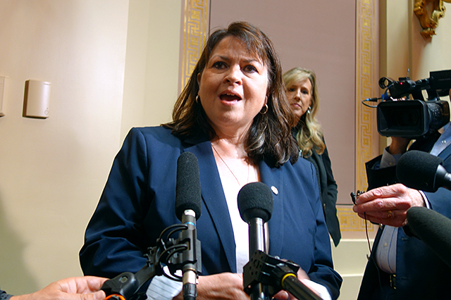 Senate Minority Leader Susan Kent, DFL-Woodbury, said there have been conversations among legislators about whether to follow the lead of the U.S. Congress, which often uses continuing resolutions that maintain current spending when new budgets can't be agreed to.