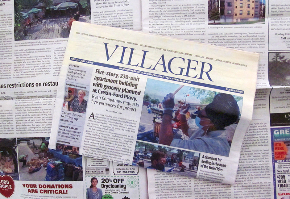 Peruse any random issue of The Villager and you'll find Jane McClure's byline throughout.
