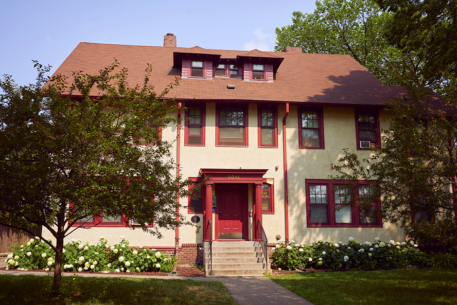 Minneapolis-based nonprofit housing organization Alliance Housing currently owns multiple rooming houses in the city. Their largest SRO is on Pillsbury Avenue south of Franklin Avenue.