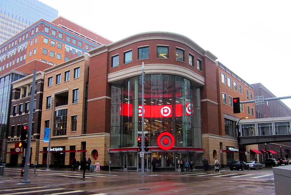 Target, downtown Minneapolis