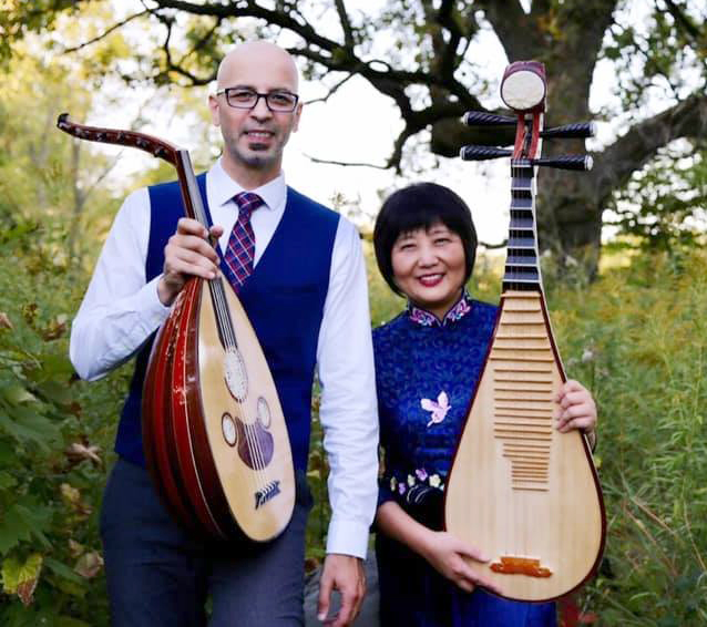 Gao Hong and Issam Rafea Duo