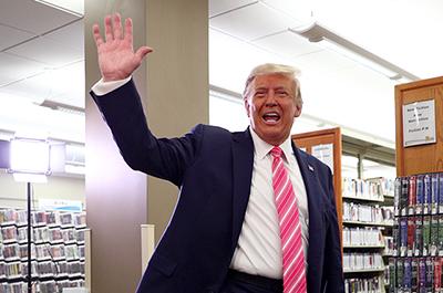 Former President Donald Trump