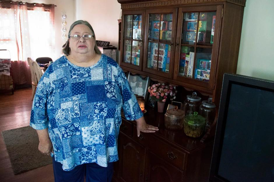 photo of karen miller standing in her home