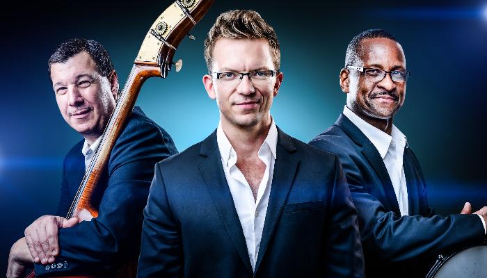 phot of musicians in travis anderson trio