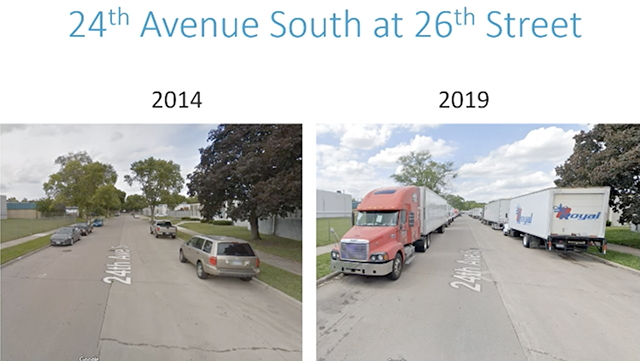 Example of park trucking in the Seward Neighborhood of Minneapolis.
