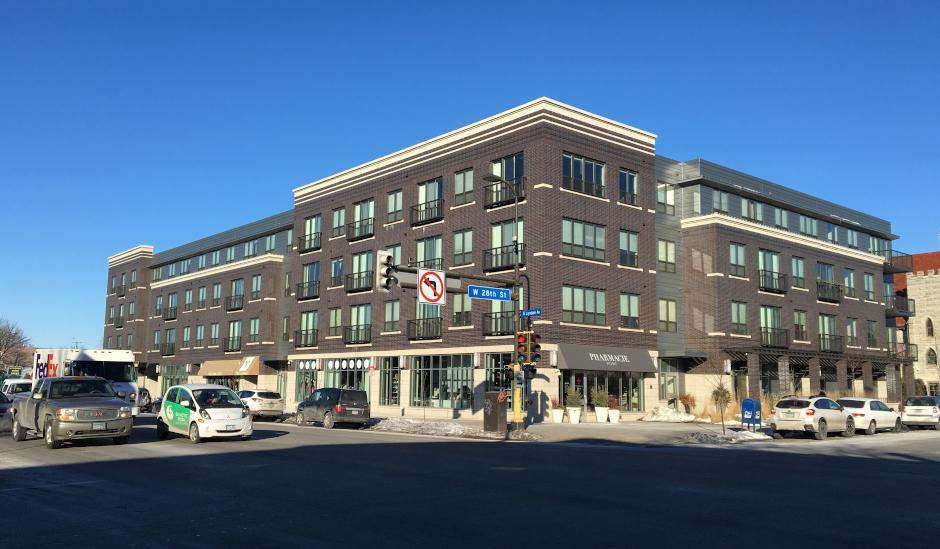 photo of brick building exterior
