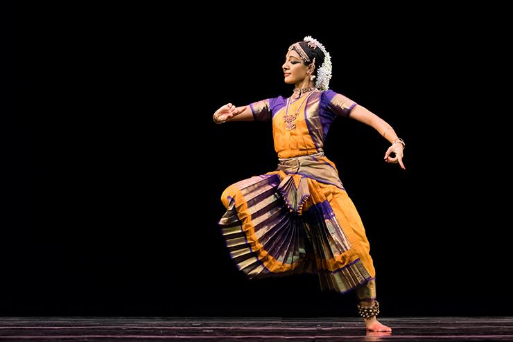Aparna Ramaswamy of Ragamala Dance Company.