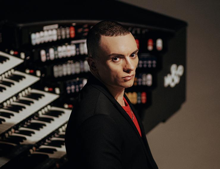 "Superstar organist Cameron Carpenter will be performing Bach's ""Goldberg"" Variations."