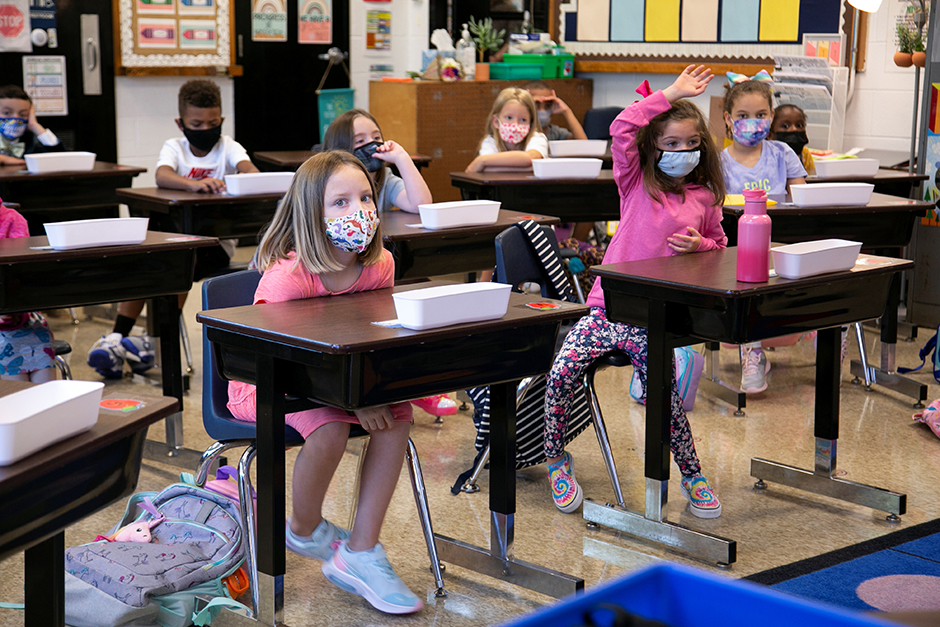 Schools are spending big chunks of theirapproximately $190 billionin pandemic relief money on a range of strategies from after-school programs to cutting class size.