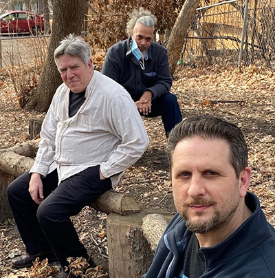 Phil Hey, Jeff Bailey and JC Sanford