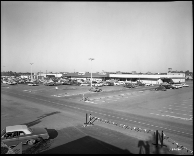 The first Target store, built in Roseville, in a photo from 1963.