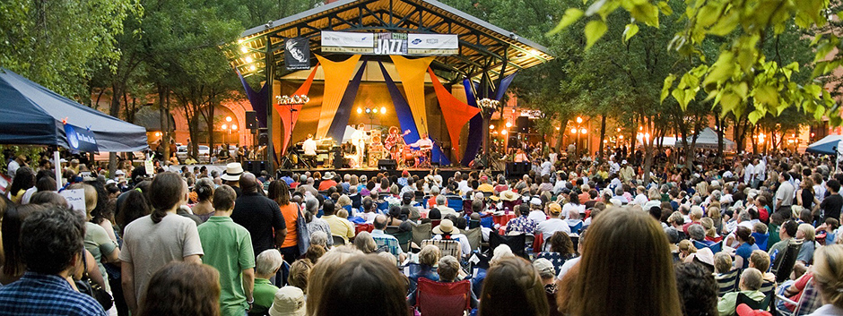 A scene from the 2018 Jazz Fest.