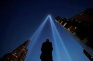 Tribute in Light art installation