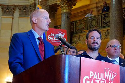 Former Senate Majority Leader Paul Gazelka