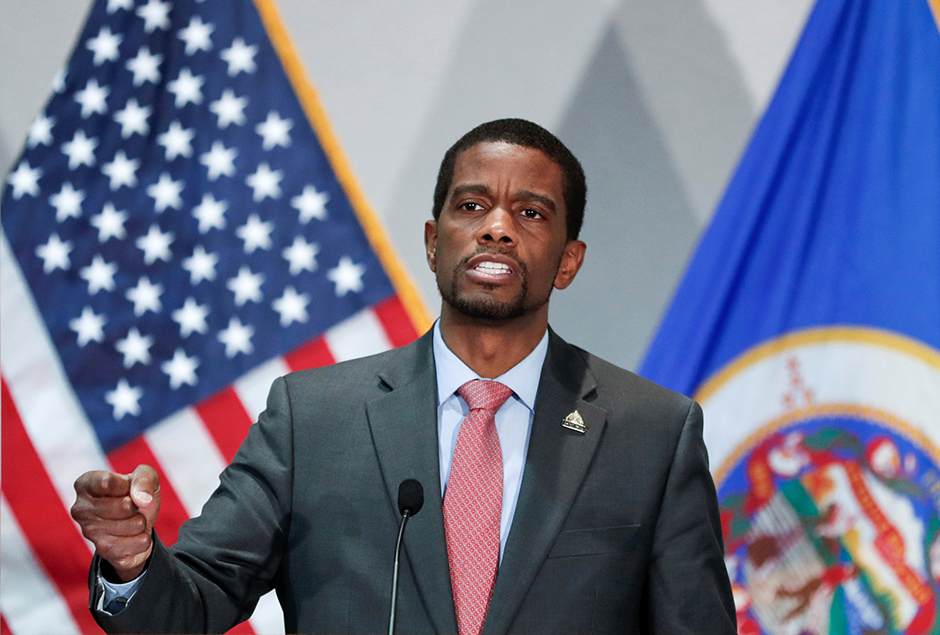 St. Paul Mayor Melvin Carter's 2022 proposal tops out at $713 million, an $80 million jump from the budget council eventually adopted for 2021, and $66 million over what the city spent in 2020.