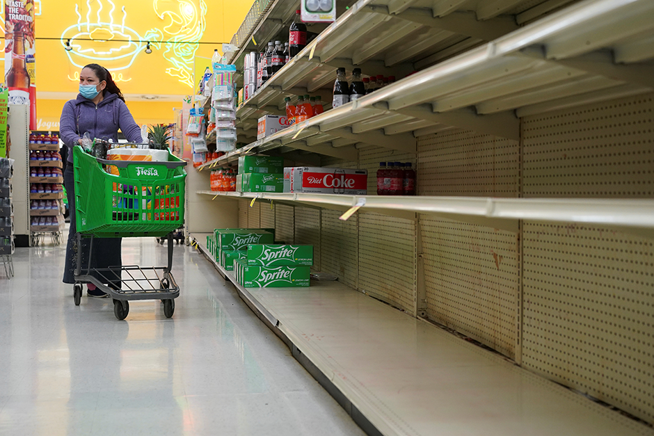Shortages of virtually every type of product – from toilet paper and sneakers to pickup trucks and chicken – are showing up across the country.