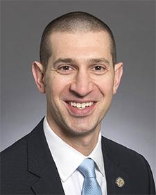 Senate Majority Leader Jeremy Miller