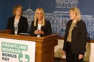 State Rep. Anne Neu Brindley, Sen. Karin Housley and Sen. Mary Kiffmeyer