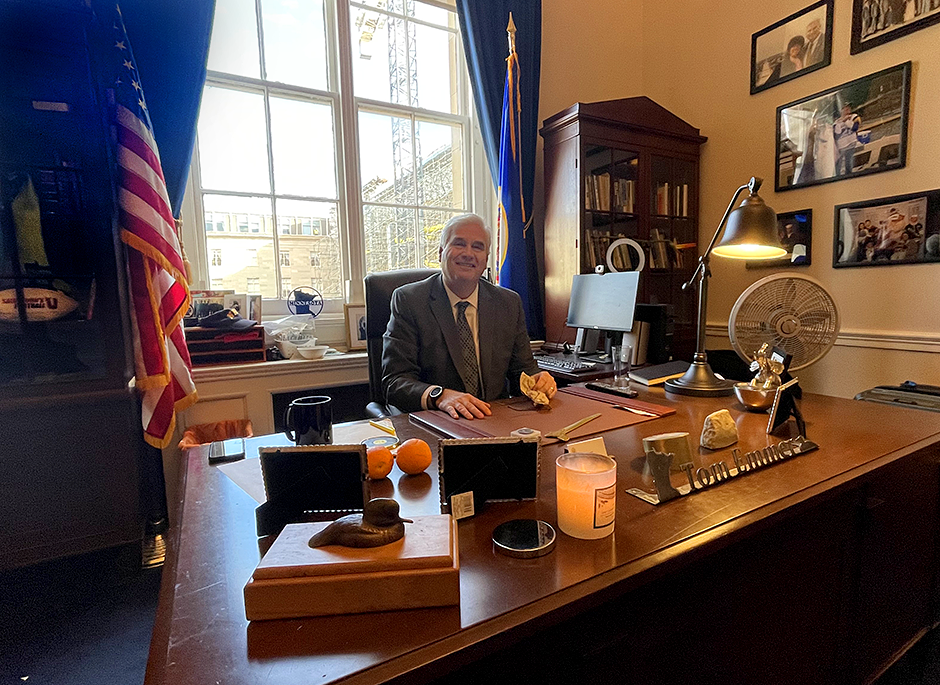 Rep. Tom Emmer, co-chair of the Congressional Blockchain Caucus, has introduced a number of bills on cryptocurrency and blockchain technology.