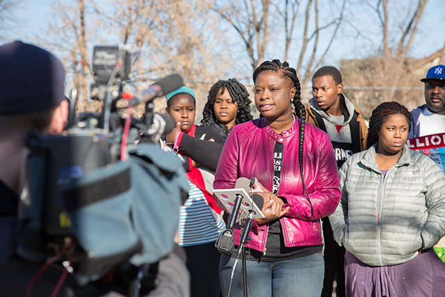 Minneapolis NAACP President Nekima Levy-Pounds
