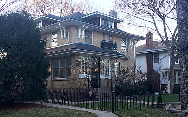 Paul Westerberg's house on Garfield