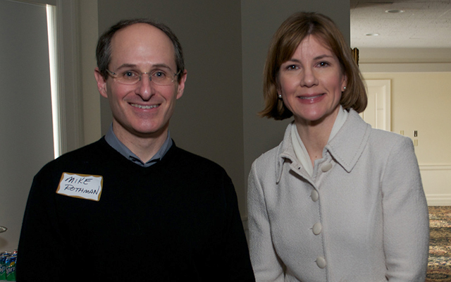 Commerce Commissioner Mike Rothman and Attorney General Lori Swanson