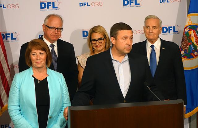 Thursday's DFL unity press conference