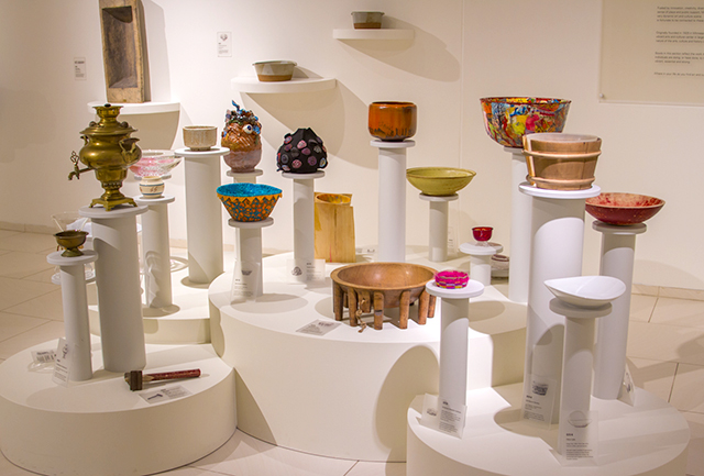 """""""101 Bowls"""" in the Osher Gallery"""