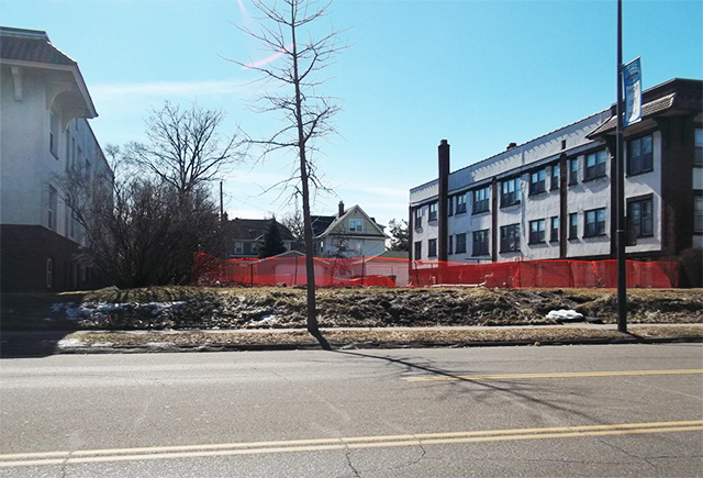 Developers recently sought to tear down a duplex at 1174 Grand Avenue