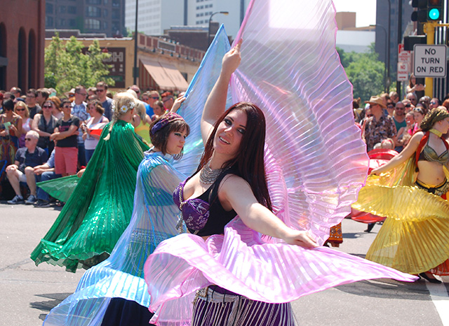 Renaissance Festival dancers