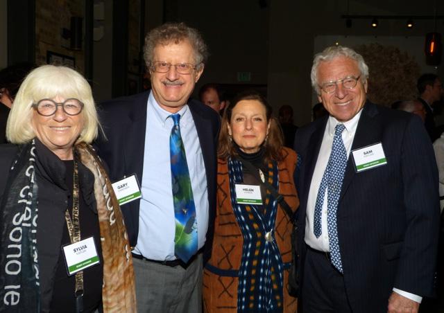 Sylvia Kaplan, Gary Gardner and Helen Kivnick, and Sam Kaplan