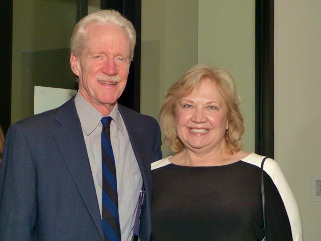 Richard Knuth and MinnPost managing editor Susan Albright