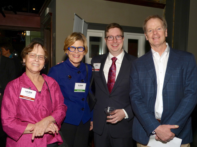 Laurie Kramer, Susan Plimpton, Andrew Wallmeyer and William Cope Moyers