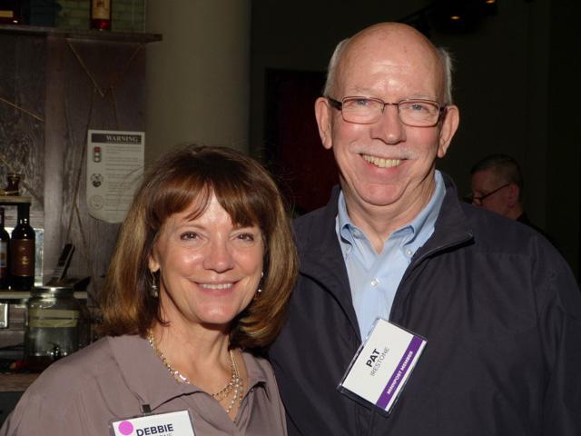 Event co-chair Debbie Irestone and Pat Irestone