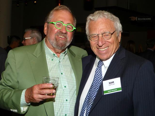 MinnPost board chair emeritus Lee Lynch and Sam Kaplan