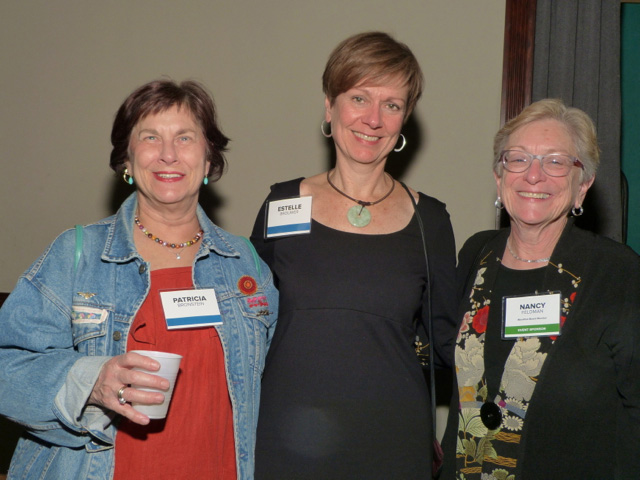 Patricia Bronstein, Estelle Brouwer and Nancy Feldman