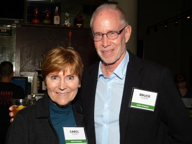 Carol and Bruce Olson