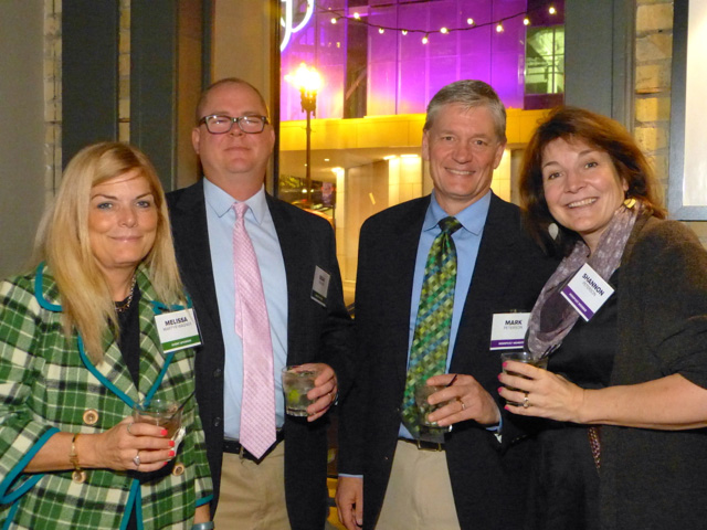 Melissa Martyr-Wagner, Sean Wagner, Mark and Shannon Peterson