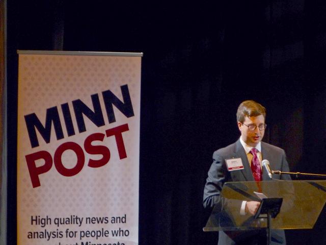 MinnPost publisher Andrew Wallmeyer