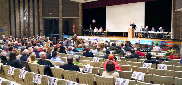 Senate District 49 convention in Bloomington