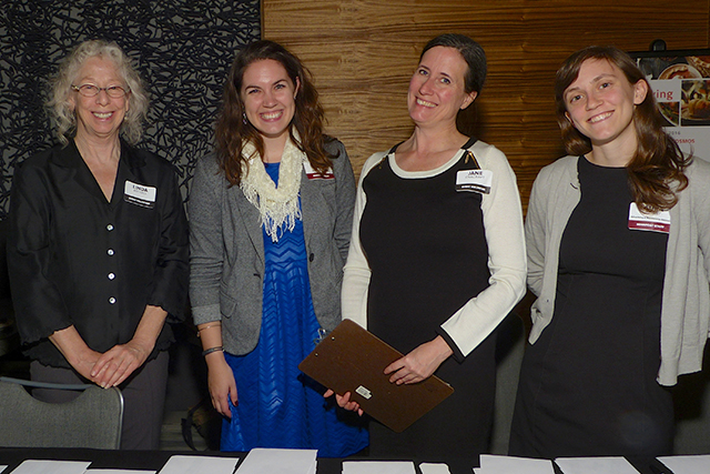 Linda Brooks, Claire Radomski, Jane Cracraft, Laura Lindsay