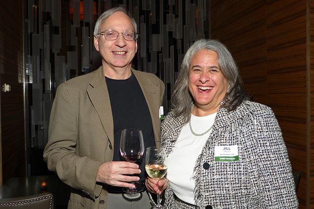 Larry Field and MinnPost board chair Jill Field