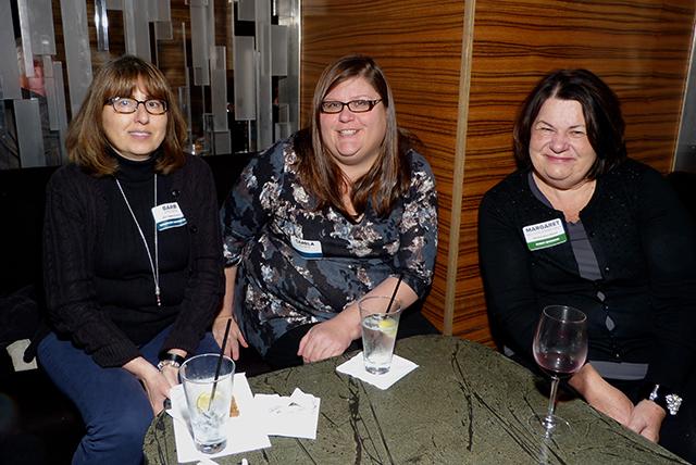 Barb Epstein, Camila Kuntz and Margaret Nelson Brinkhaus