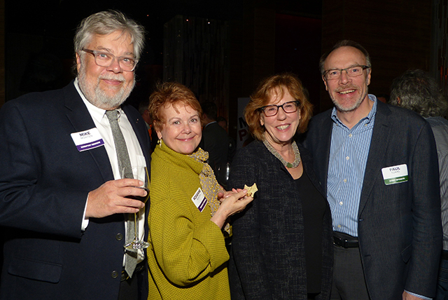 Mike and Rosanne Monten, Barbara and Paul Klaas