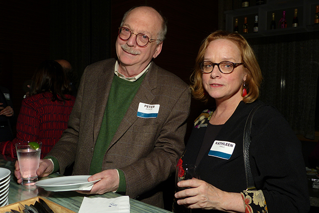 Peter Agree and Kathleen Hall